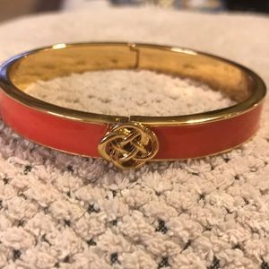 Stella & Dot Lindsay Hinged Bangle Bracelet